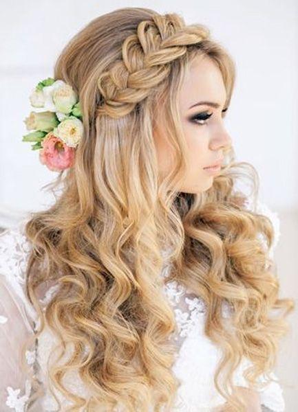 Cute Wedding Hairstyles Super Cute Long Wedding Hairstyles 2015 2016 Styles Time In 2020 Hair Styles Wedding Hair Down Long Hair Styles