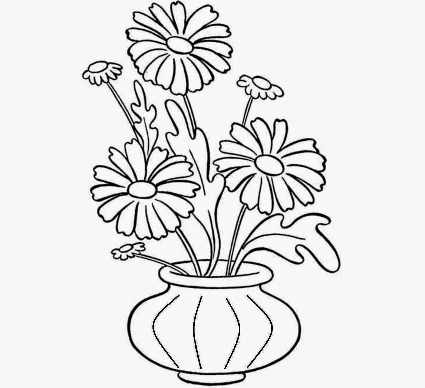 10 Shocking Vases Decor Shelves Ideas Flower Drawing Cute Flower Drawing Pretty Flower Drawing