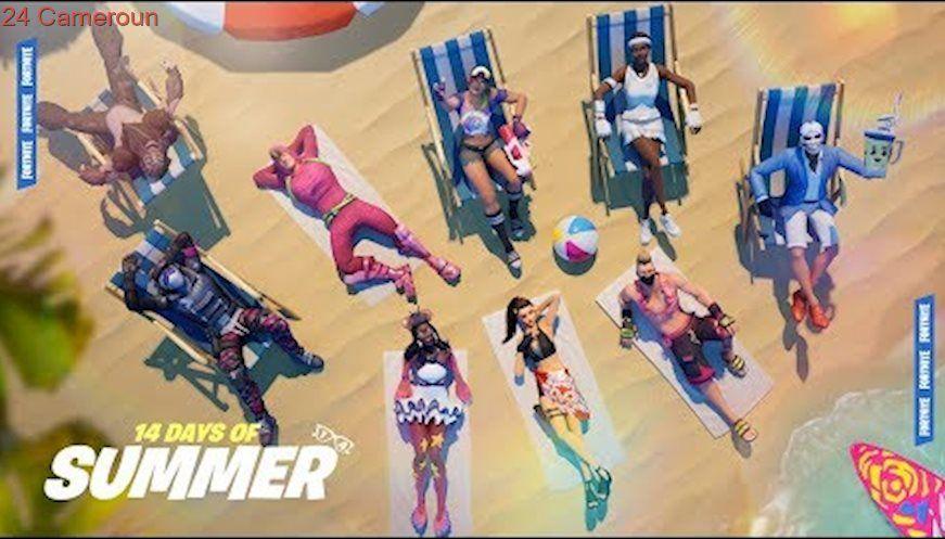 14 Days Of Summer Fortnite Battle Royale Personnage
