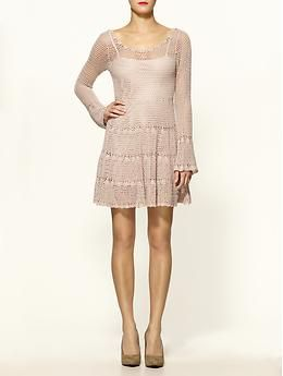 Love this Belle Sweater Dress. Reminds me of a Nanette Lapore dress I have, and love.