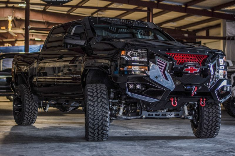 The Chevy Silverado Mad Rock from Rocky Ridge is built to ...