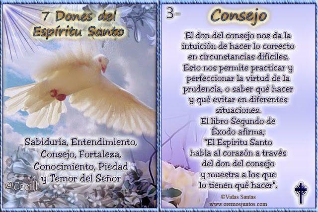 Imagenes De Cecill 7 Dones Del Espiritu Santo Dones Del Espiritu Espiritu Santo Espiritus