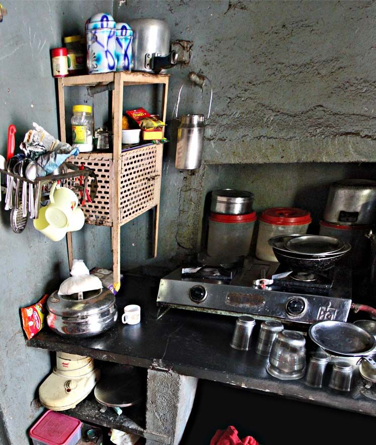 Image result for poor indian kitchen My