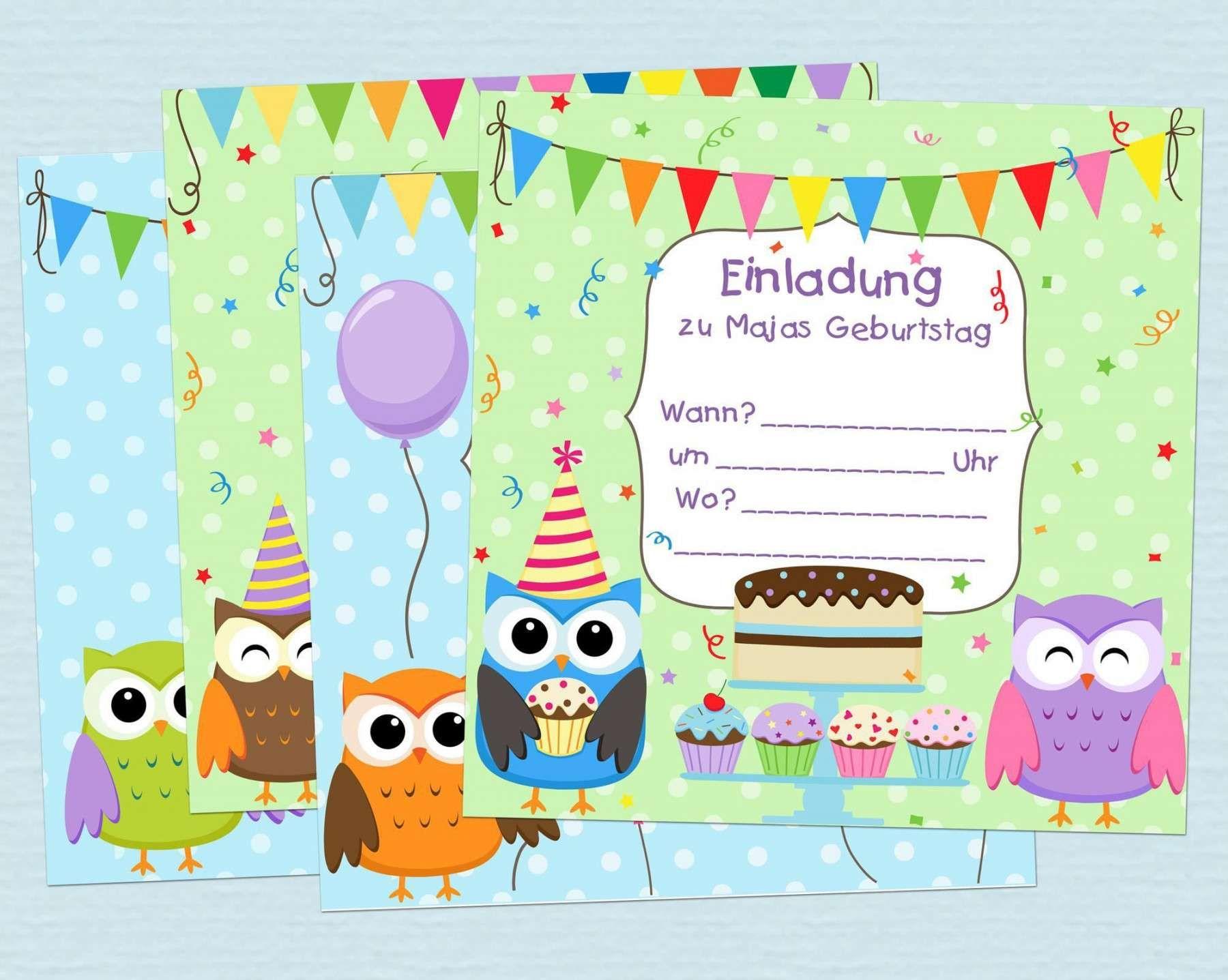 Kostenlos kindergeburtstag einladung bilder Einladung Zum