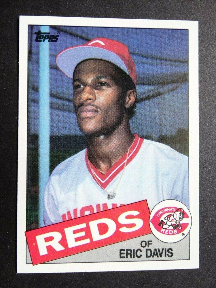 1985 Topps #627 Eric Davis Cincinnati Reds RC Rookie Baseball Card Verzamelkaarten: sport