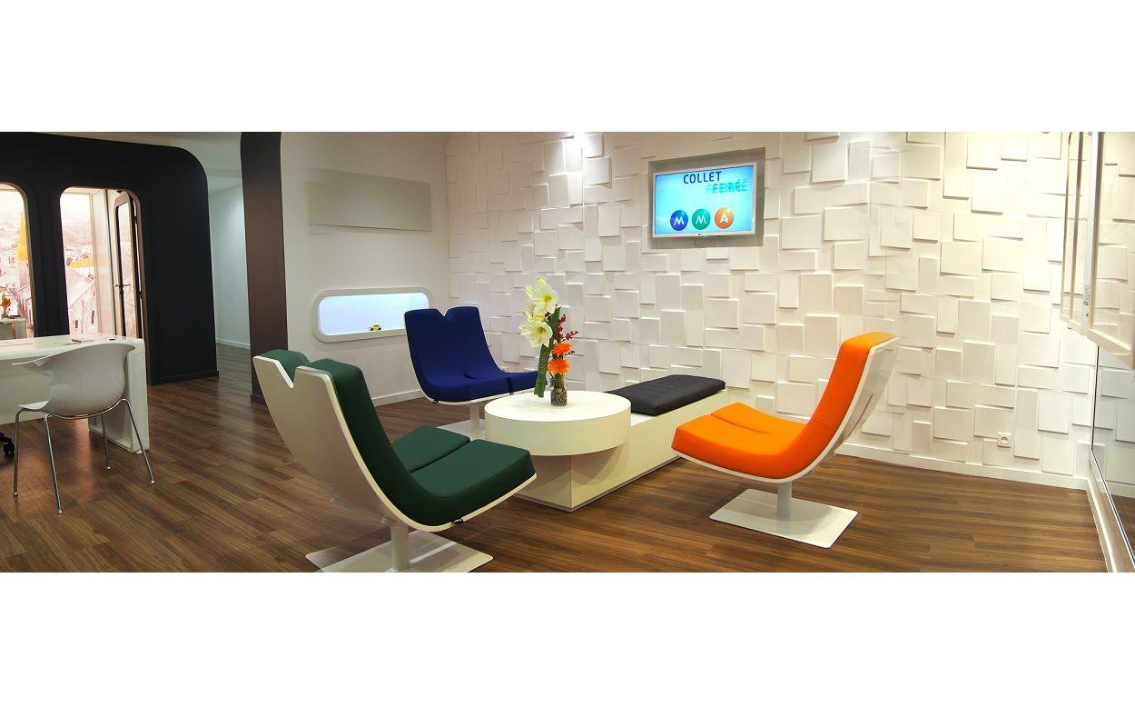 TABISSO Typographia Collection - MMA Insurance, FR - Interior Design ...