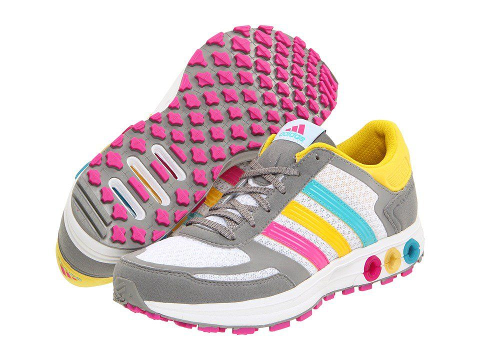 73208aa682f6 adidas Running LA Trainer W Running White Wonder Glow Shift Grey - Zappos.com  Free Shipping BOTH Ways