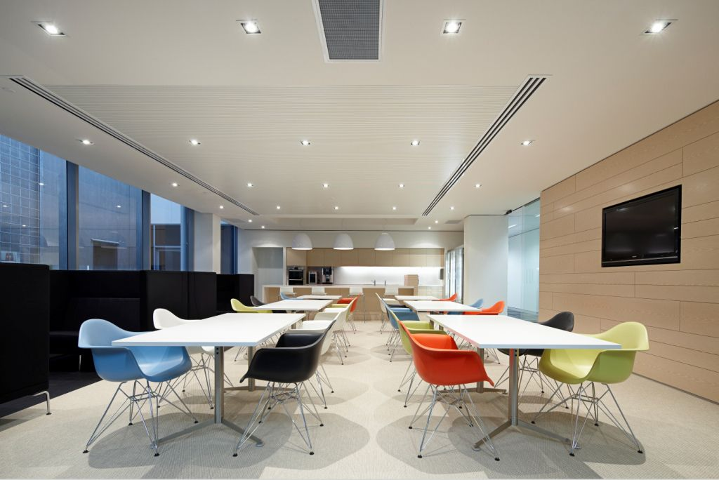 Mkdc downer edi engineering office with herman miller office kitchen pinterest commercial interiors office interiors and commercial