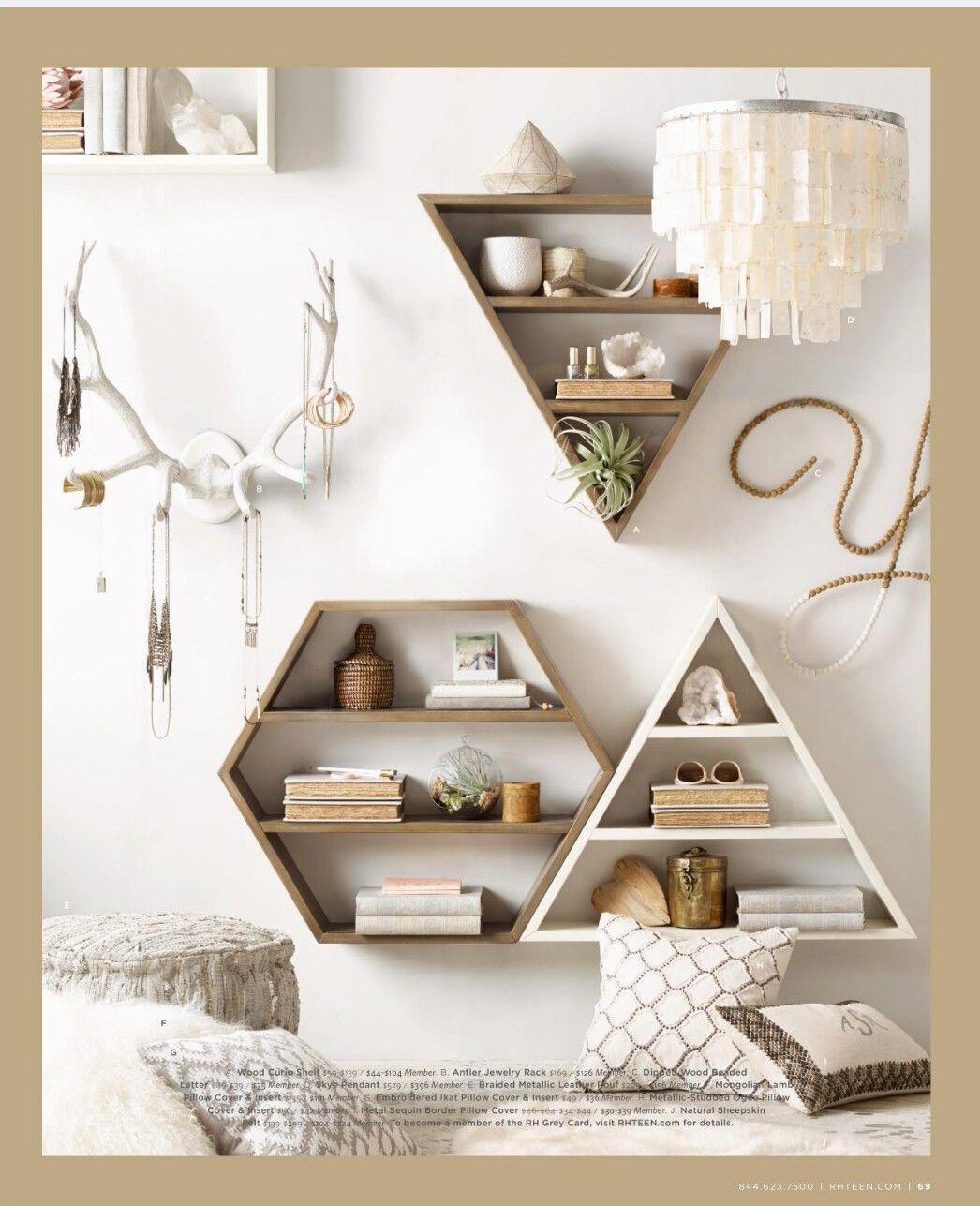 Cute Shelves Look Easy To Make Slaapkamerideeen Slaapkamer Decor Kamerinrichting