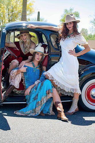 Texas Cow Girl Dresses