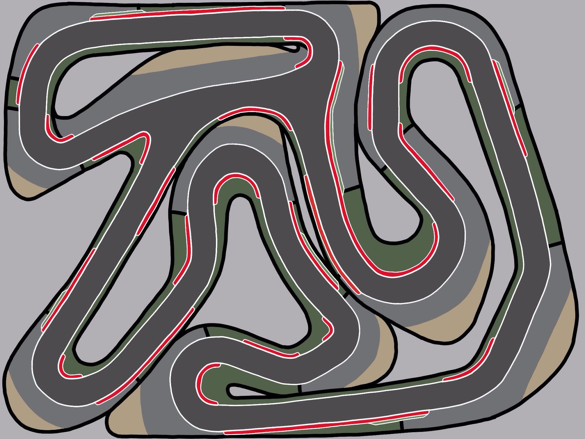 go kart circuit design racetrackdesigns