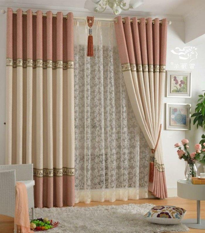 Decoration De Rideau embrasse rideau - 80 modèles originaux pour une décoration de charme
