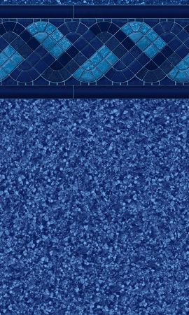 Blue Raleigh Tile Swimming Pool Liner Patterns Garrett