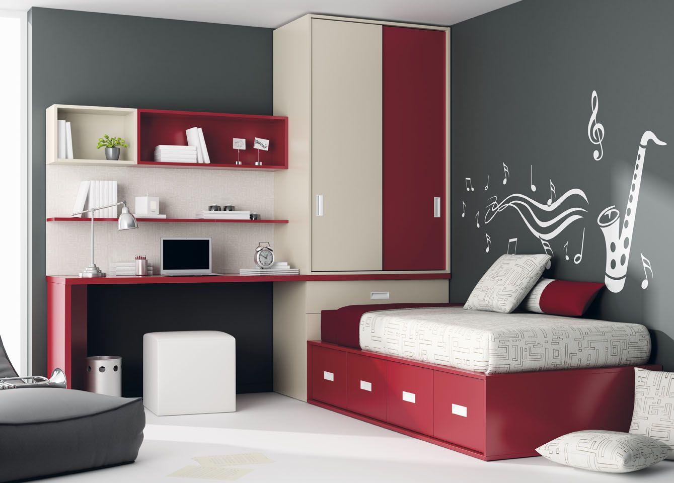 Habitaci n juvenil del cat logo de mueble juvenil kids for Catalogos habitaciones juveniles