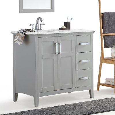 Simpli Home Winston 37 Single Bathroom Vanity Set Products