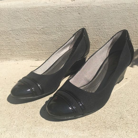 34dd397a140 Black · I just added this to my closet on Poshmark  LifeStride Juliana  Wedge Pump .