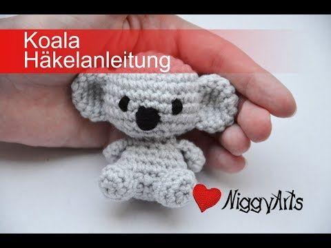 Niggyarts Koala Häkelanleitung Youtube Amigurumi Pinterest