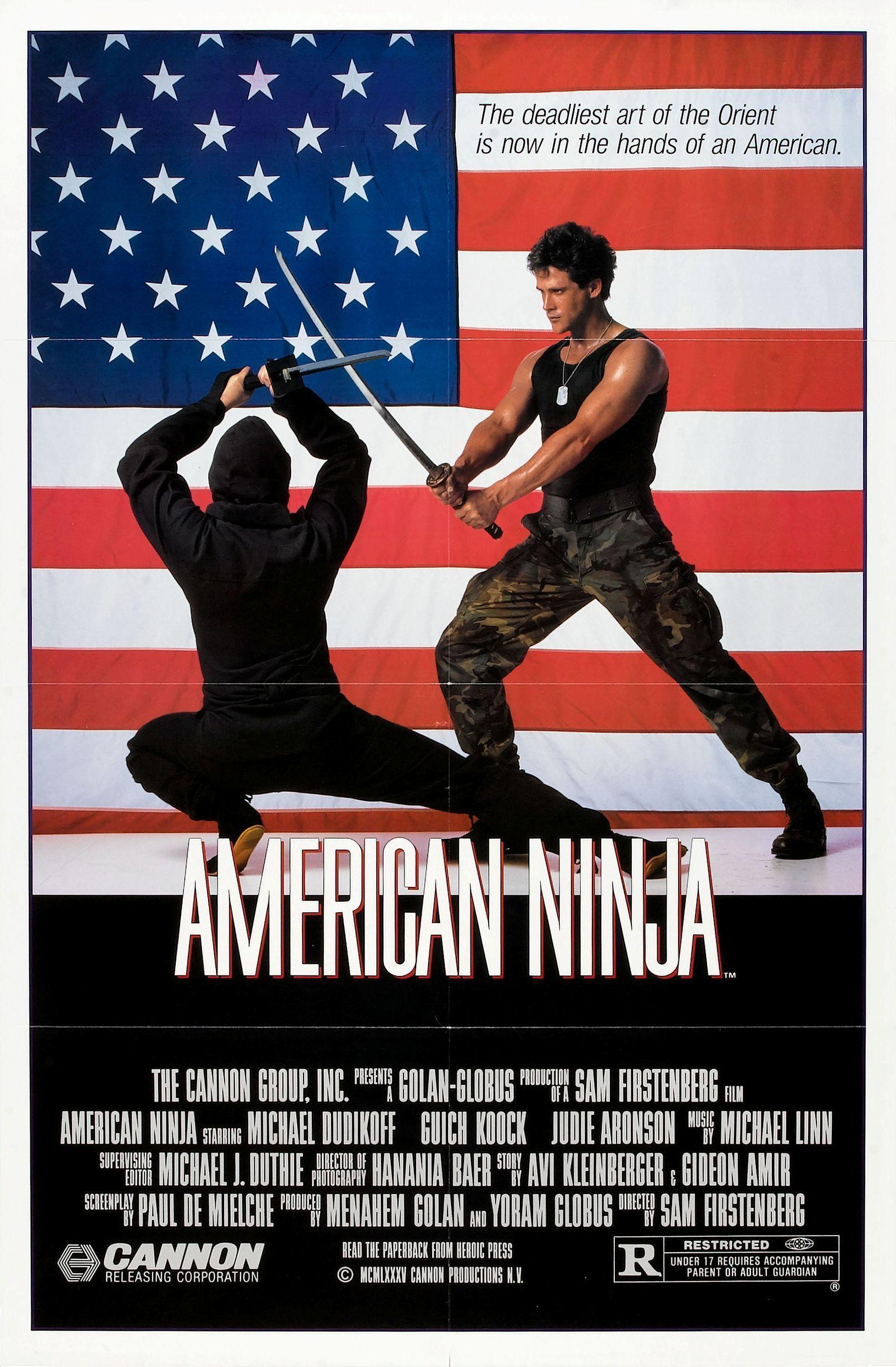 American Ninja 1 S Izobrazheniyami Plakaty S Filmami Voin