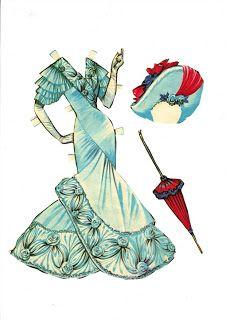 Sharon's Sunlit Memories: My Fair Lady Paper Doll