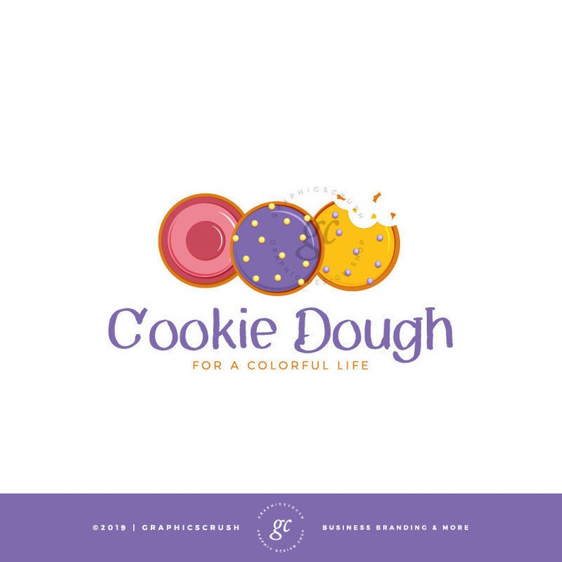 premade cookie logo design cookies logo template sweets logo template logo templates logo design photography logo design logo template sweets logo template