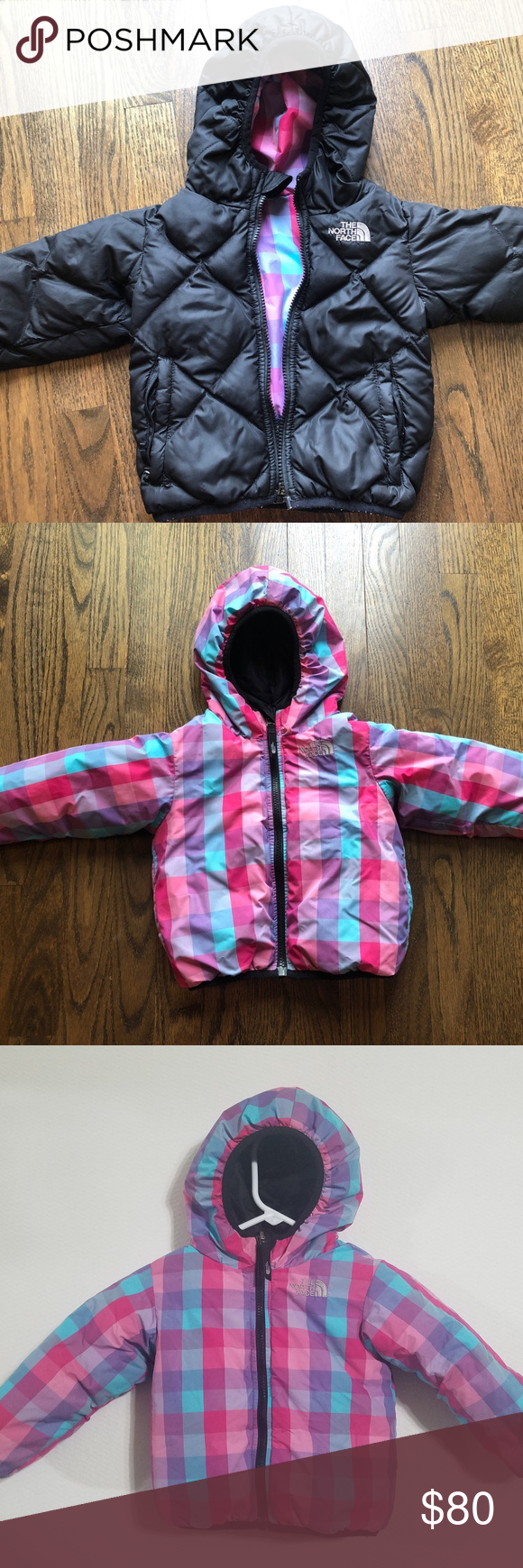 The North Face Girls 2t Winter Puffer Jacket Coat North Face Girls Winter Puffer Jackets Toddler Jacket [ 1740 x 580 Pixel ]