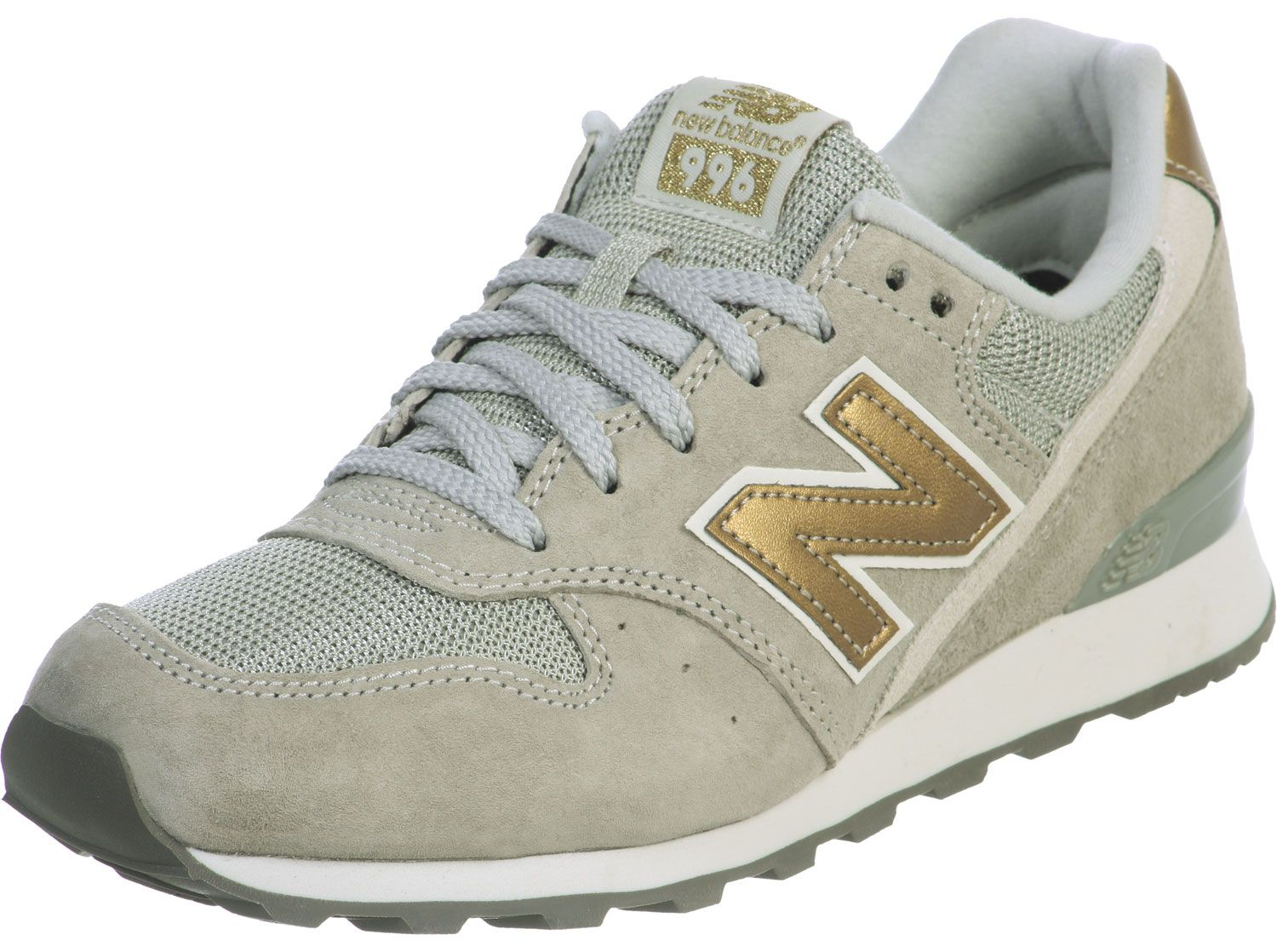 new balance wr996 w chaussures gris or