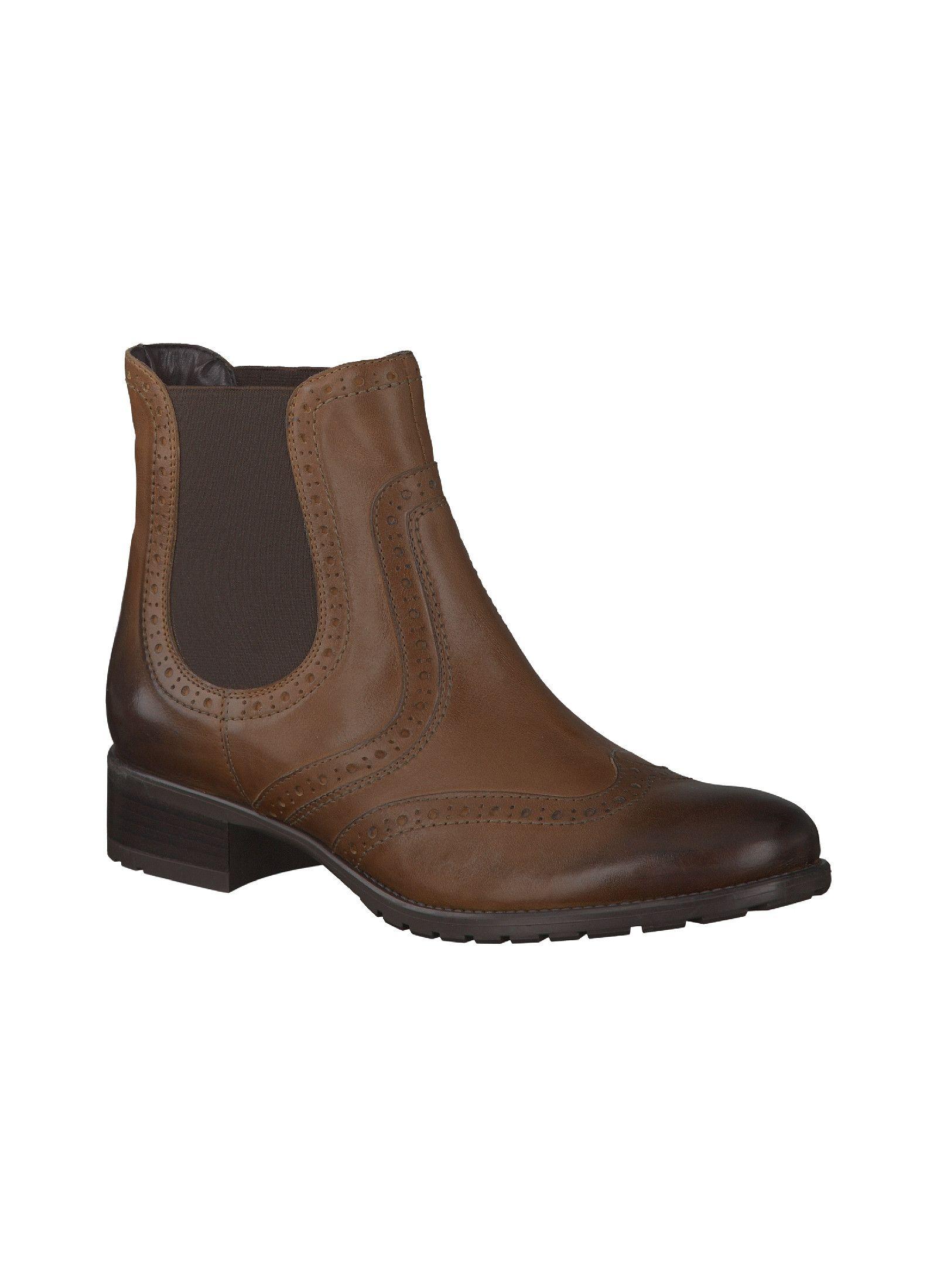 Reno Venturini Stiefelette Mittelbraun Stiefeletten Damen Schuhe Reno Online Shop Fur Marken Schuhe Ankle Boot Boots Chelsea Boots