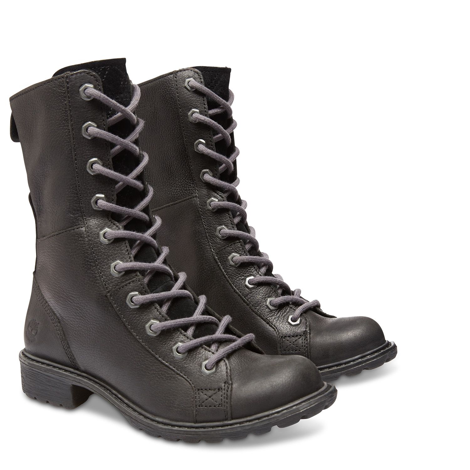 Timberland - Women's Stoddard Quilted Mid Lace Waterproof Boot ... : timberland quilted boots - Adamdwight.com