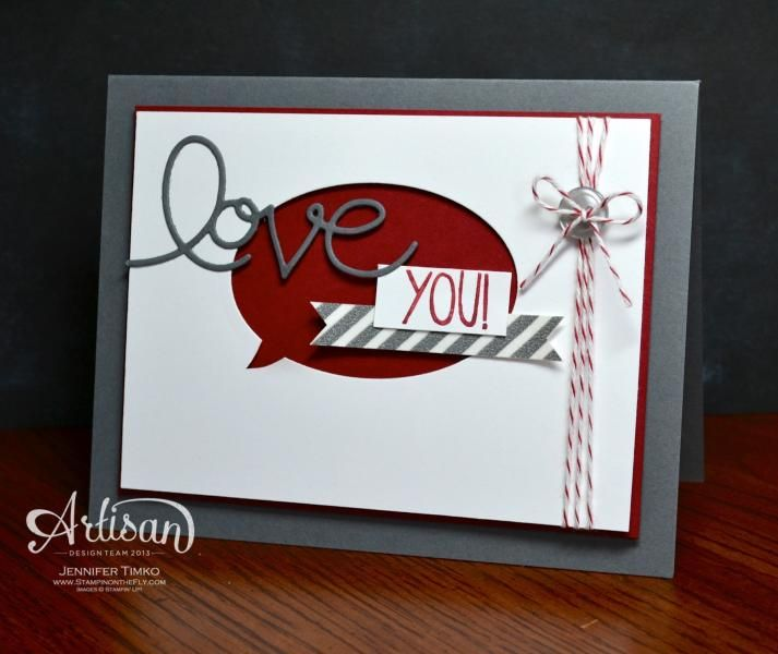 Love You! by jentimko - Cards and Paper Crafts at Splitcoaststampers