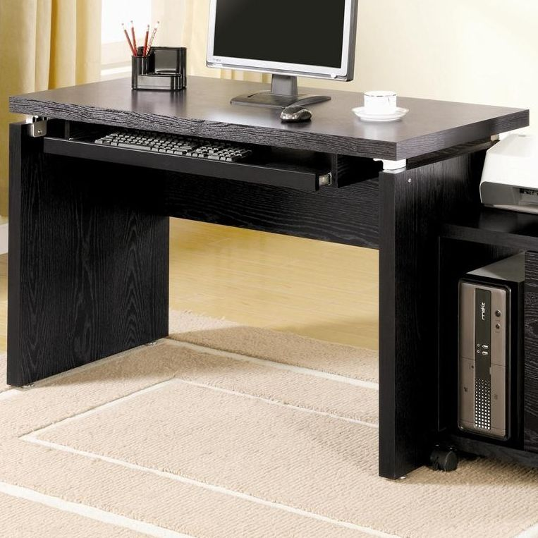 How To Purchase The Perfect Contemporary Computer Desk Designalls In 2020 Contemporary Computer Desk Black Office Furniture Office Furniture Set