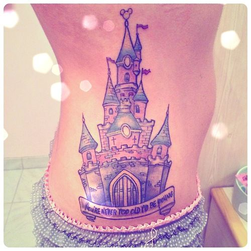 castle tattooo ink pinterest. Black Bedroom Furniture Sets. Home Design Ideas