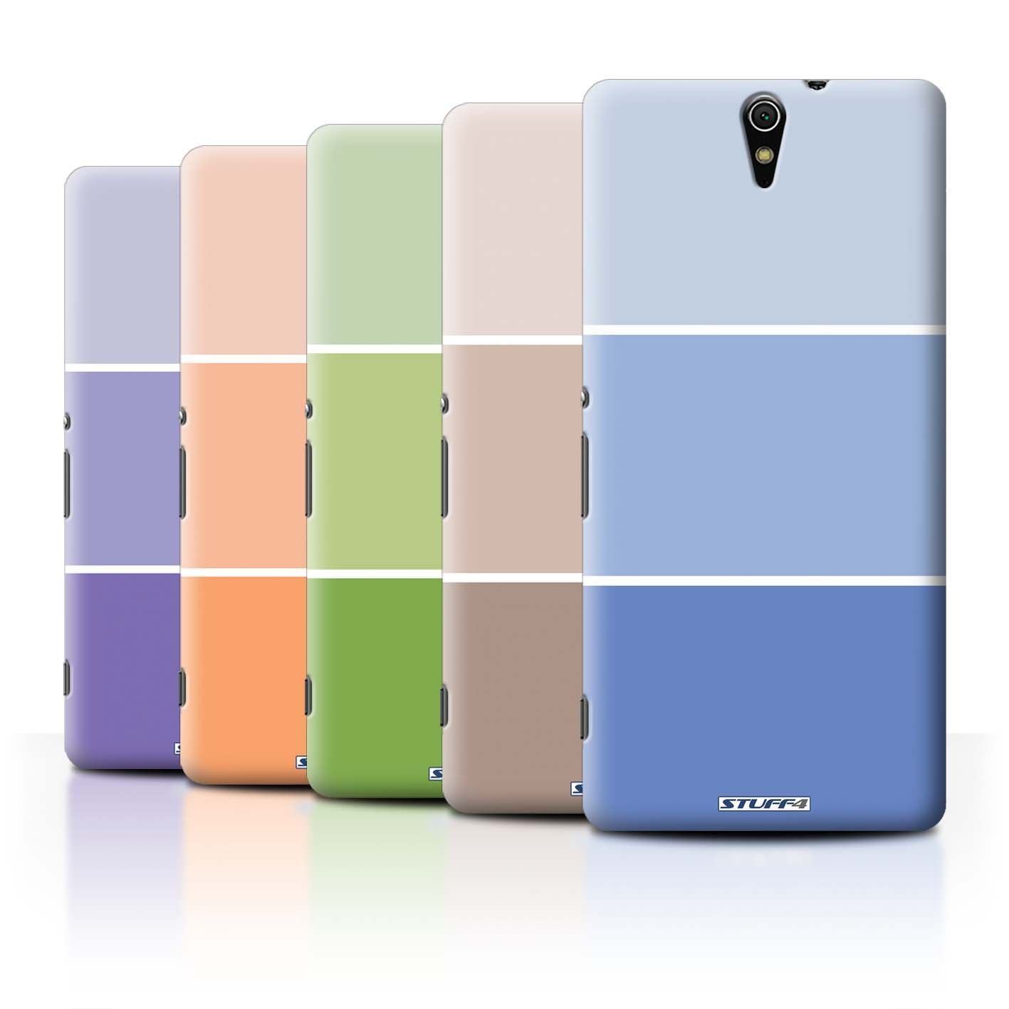 £5 9 GBP Stuff4 Phone Case Back Cover For Sony Xperia C5 Ultra Pastel Colour Tones ebay Electronics