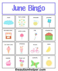 June bing clip art