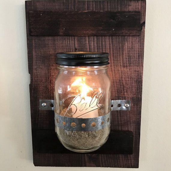 Mason Jar Wall Decoration
