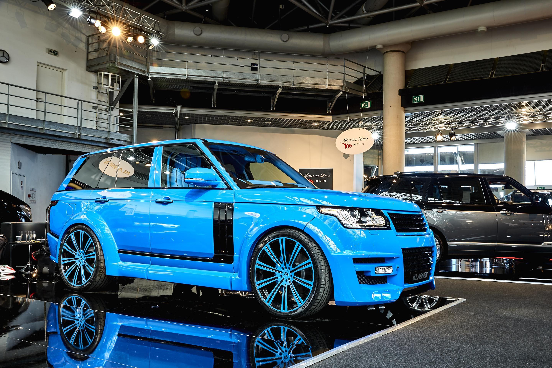 2016 Land Rover Range Rover by Klassen Land Rover Range Rover tuning Segment J British brands Klassen