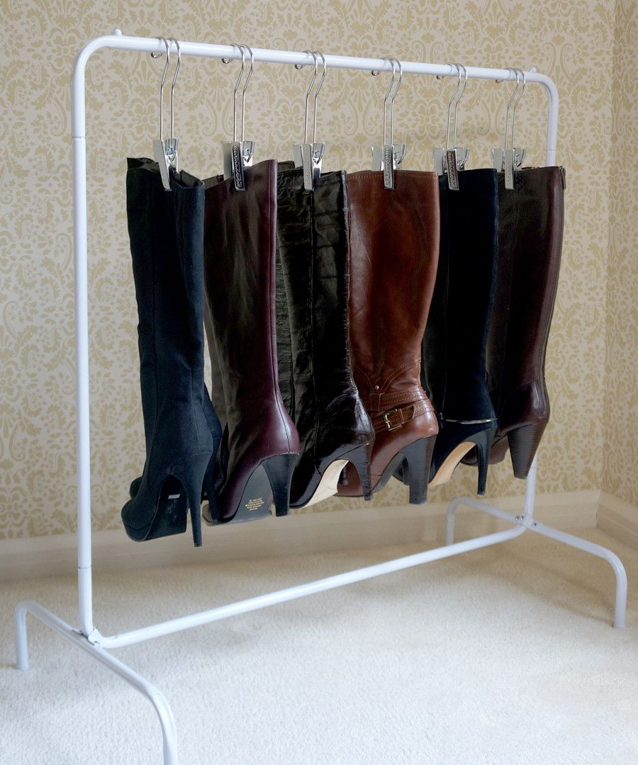 Store Your Boots With The Boot Rack™ To Organize Your Closet And