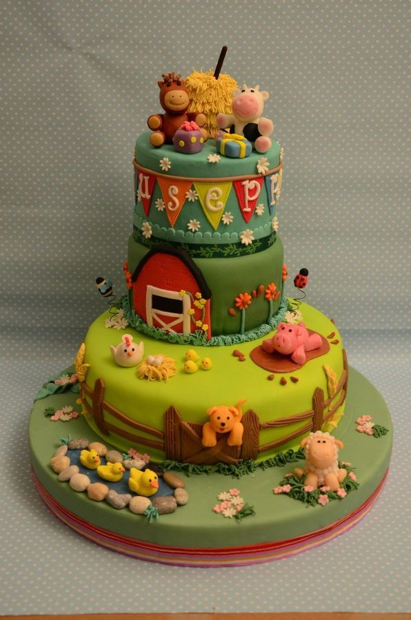 the sweety farm — Children's Birthday Cakes