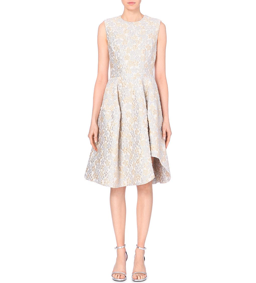 SIMONE ROCHA - Floral-jacquard dress | Selfridges.com | Dresses ...