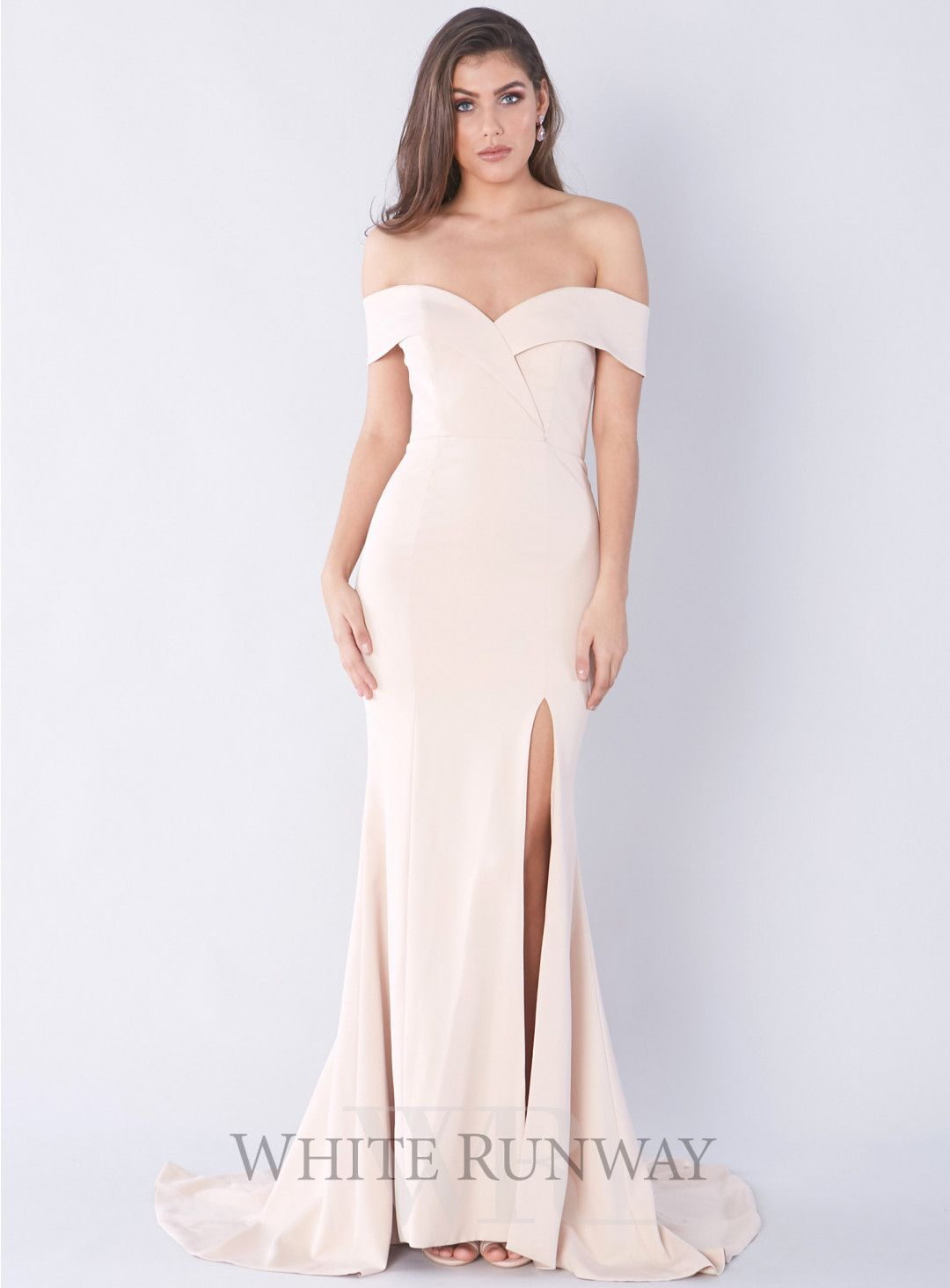 Gia off shoulder gown fashion pinterest gowns off shoulder