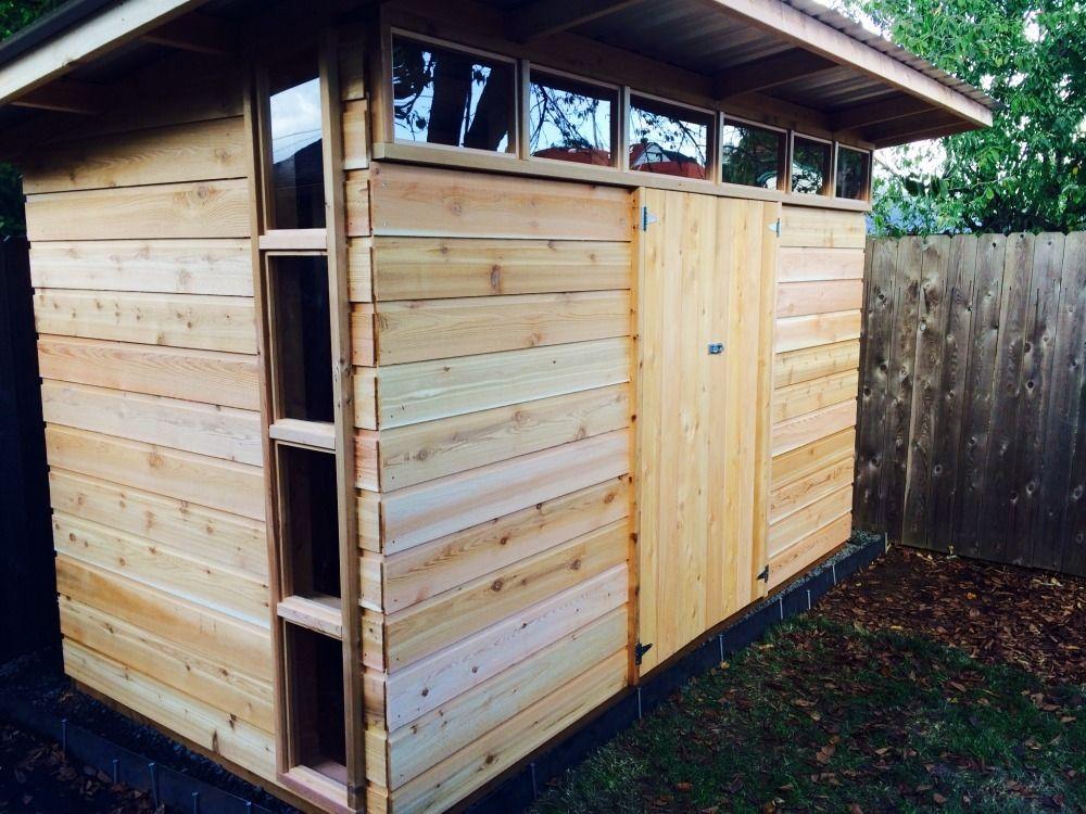 garden sheds modern sheds portland the chicken gardener - Garden Sheds 6 X 12