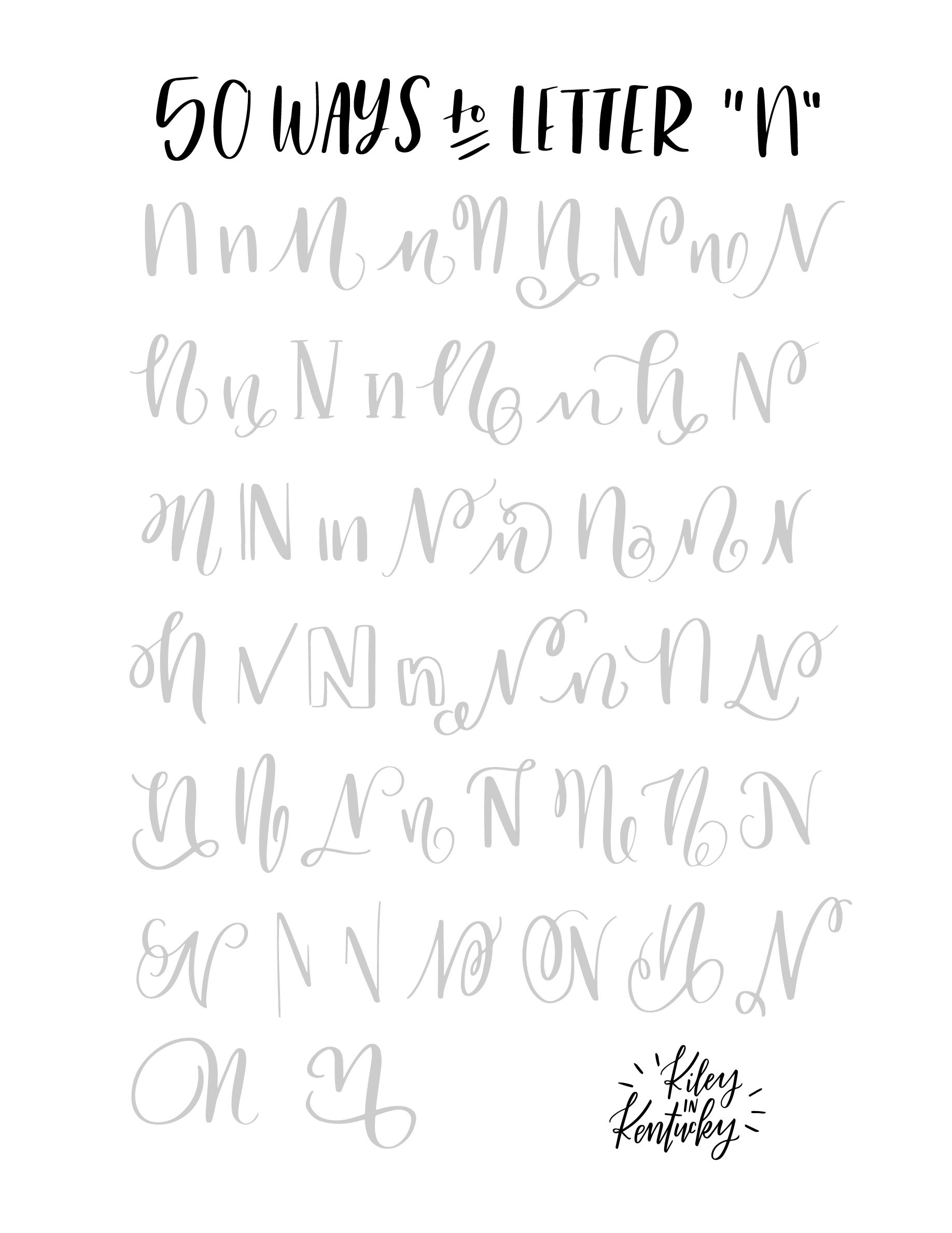 Pin By Zeka On 50 Ways To Letter
