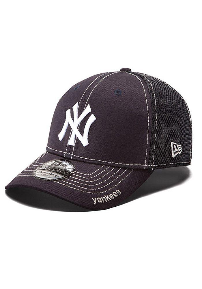 fa1ee78f085 New York Yankees New Era Mens Navy Neo Flex Hat http   www.