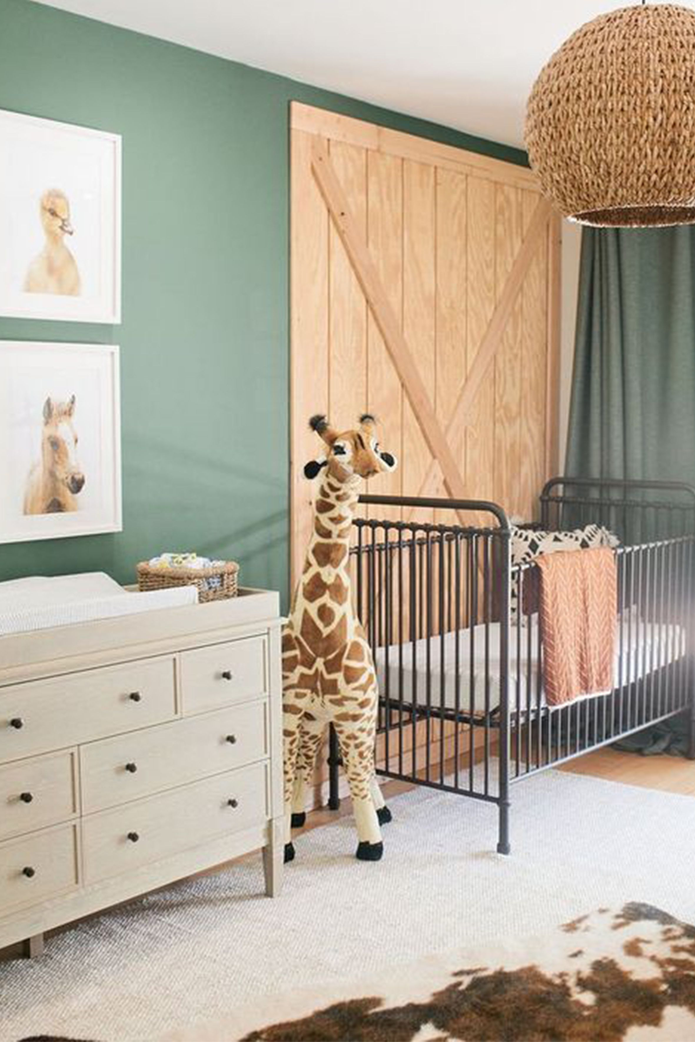 Rustic Baby Boy Nursery Decor