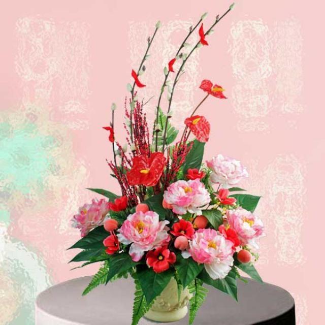 chinese flower arrangement - photo #23