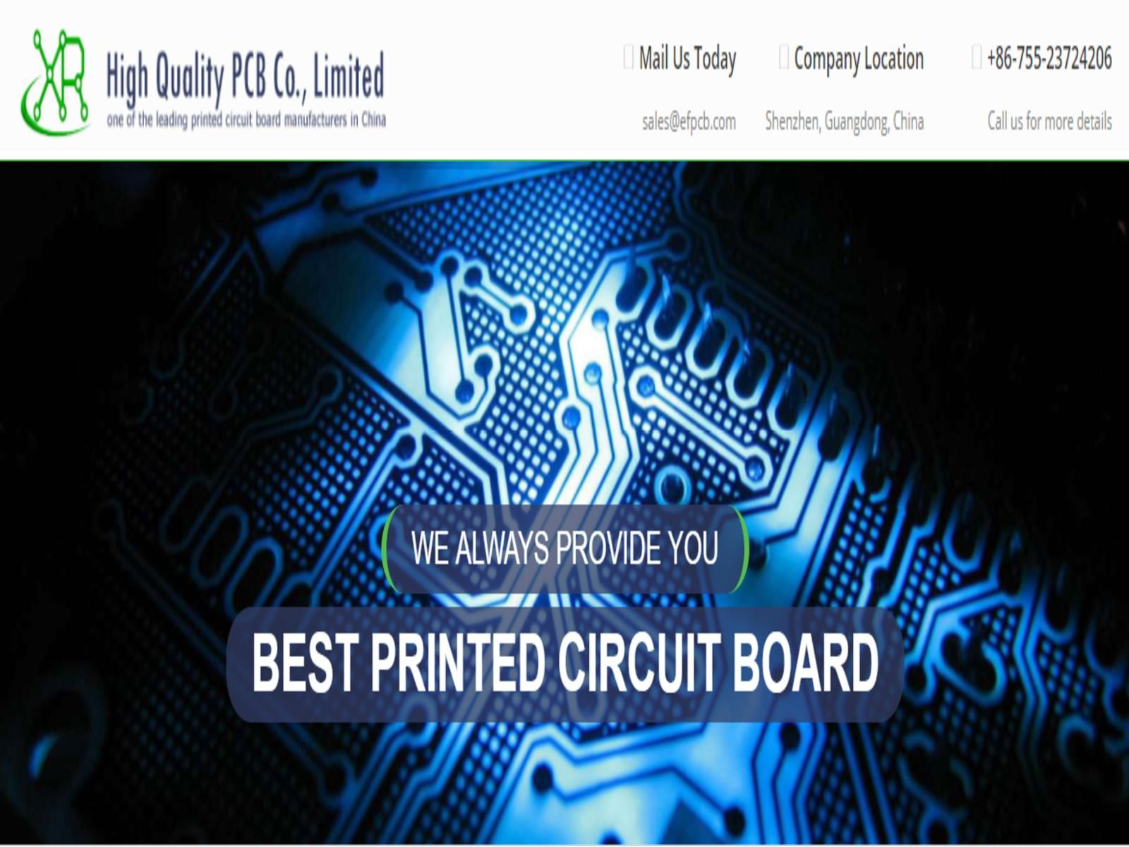 Hire The China Pcb Supplier As Per Your Need Efpcb Blog Printed Circuit Board