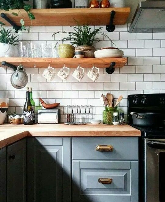 Awesome Kitchen Open Shelving Ideas