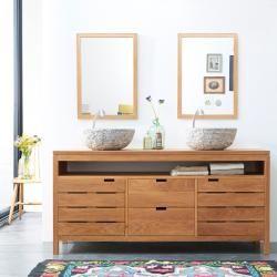 Oak 165 washbasin Serena OakTikamoon