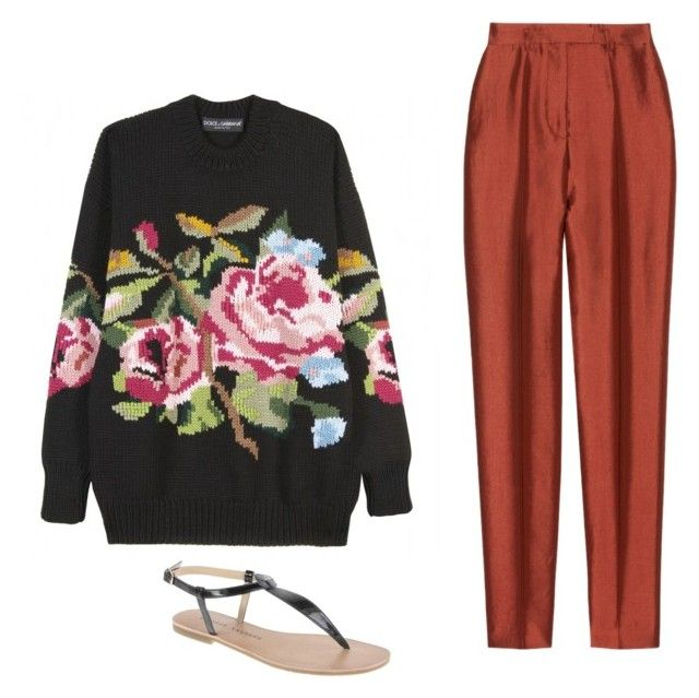 """Granny"" by claraclo19 ❤ liked on Polyvore featuring Dolce&Gabbana, Haider Ackermann and Chinese Laundry"