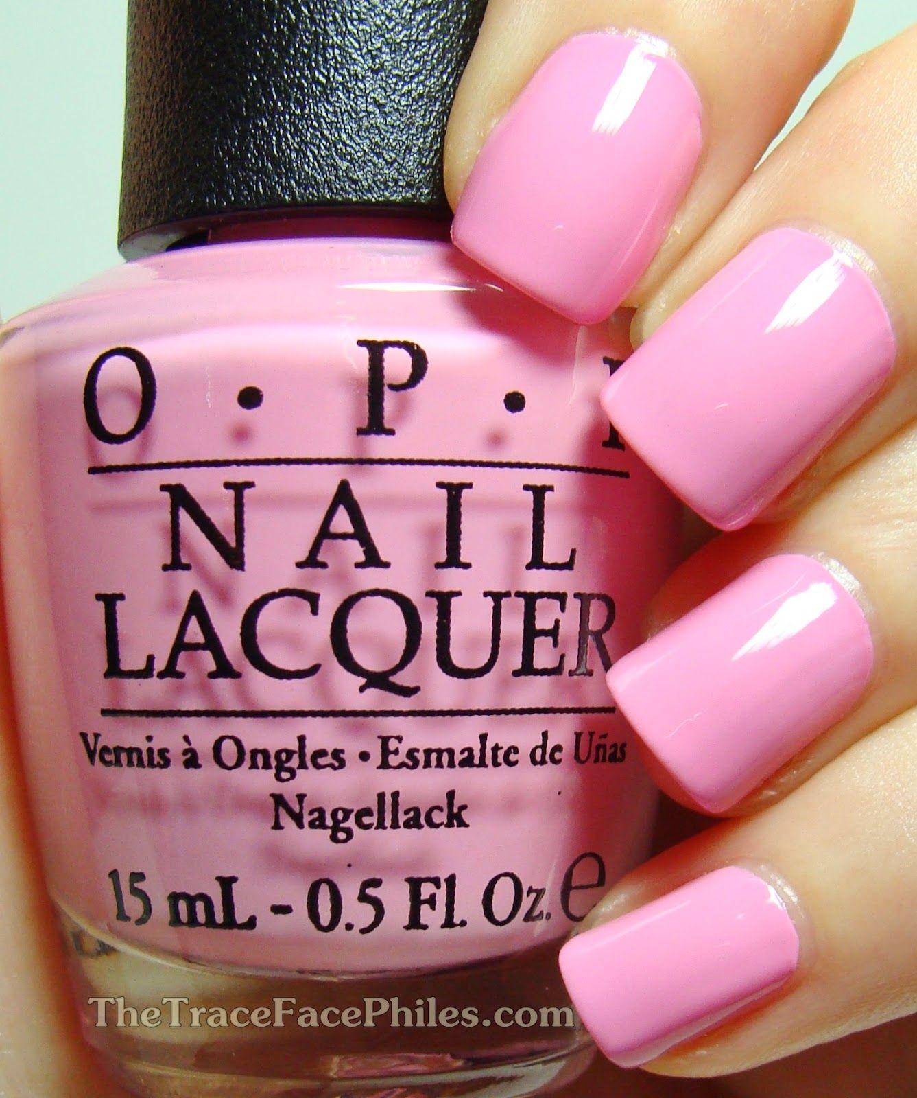 The Traceface Philes Opi Hello Flamingo Limited Edition Duo Nail Polish Hot Pink Nail Polish Nails