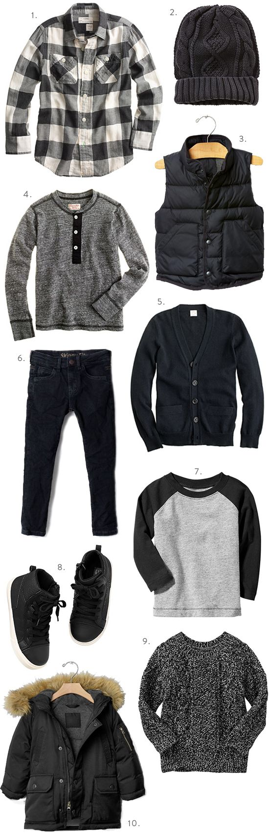 Boys Fall Fashion at J. Crew Black is Back is ...